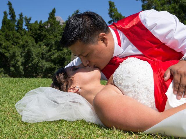 La boda de Alejandro y Rut en Ojen, Málaga 31