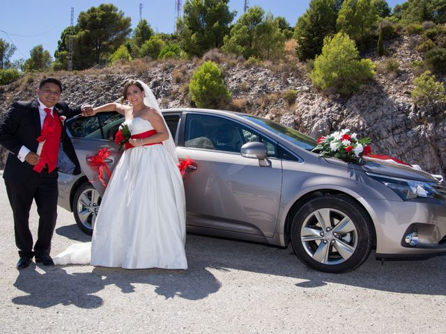 La boda de Alejandro y Rut en Ojen, Málaga 41
