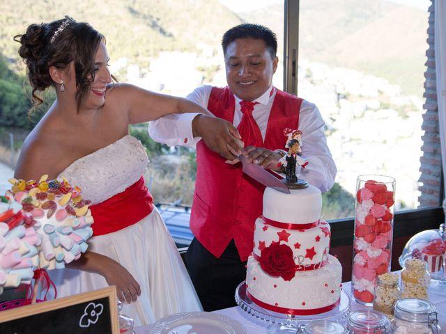 La boda de Alejandro y Rut en Ojen, Málaga 42