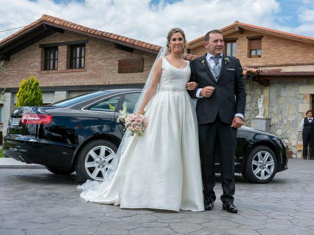 La boda de David y María en Laukiz, Vizcaya 10