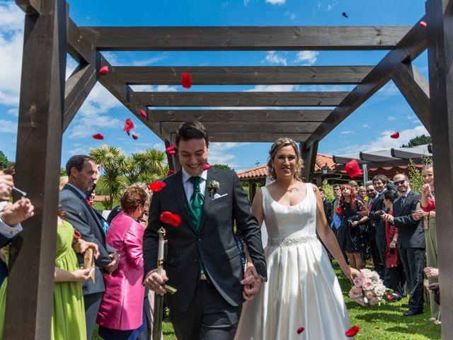La boda de David y María en Laukiz, Vizcaya 17