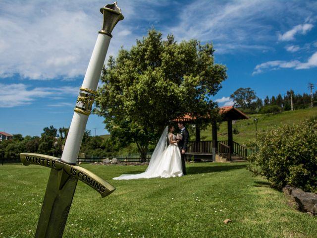 La boda de David y María en Laukiz, Vizcaya 22