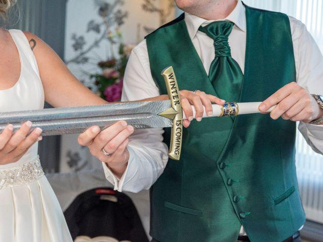 La boda de David y María en Laukiz, Vizcaya 31