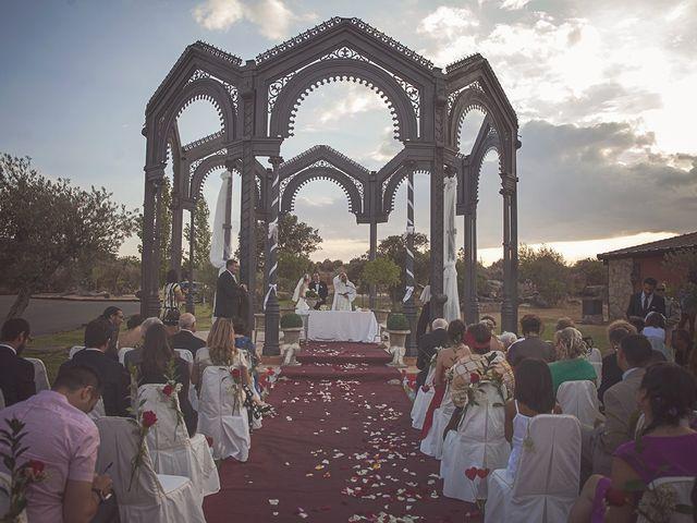 La boda de Kike y Audry en Almorox, Toledo 53