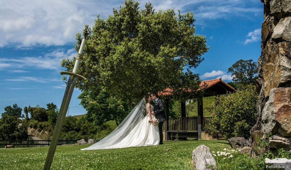 La boda de David y María en Laukiz, Vizcaya