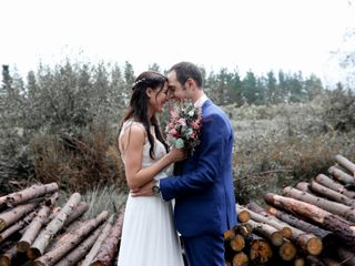 La boda de Alexia y Antxiko