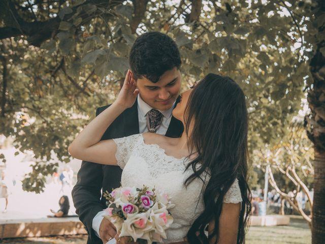 La boda de Fernanda y Fabricio en Alhaurin El Grande, Málaga 122