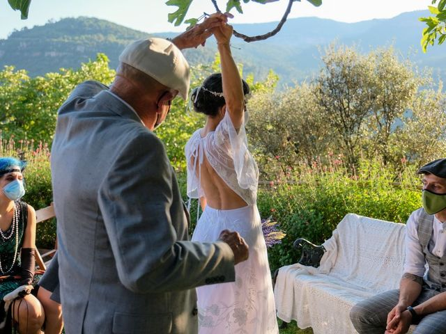 La boda de Cristina y David en Tagamanent, Barcelona 25