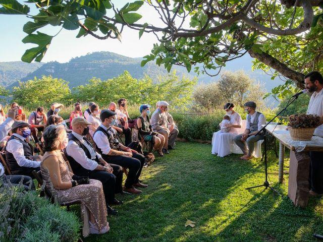 La boda de Cristina y David en Tagamanent, Barcelona 26