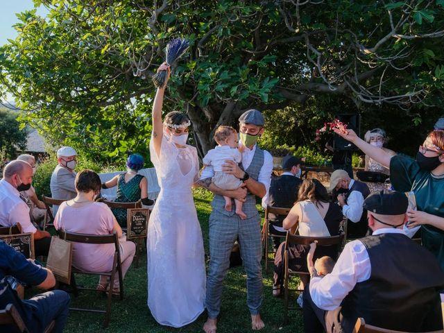 La boda de Cristina y David en Tagamanent, Barcelona 32