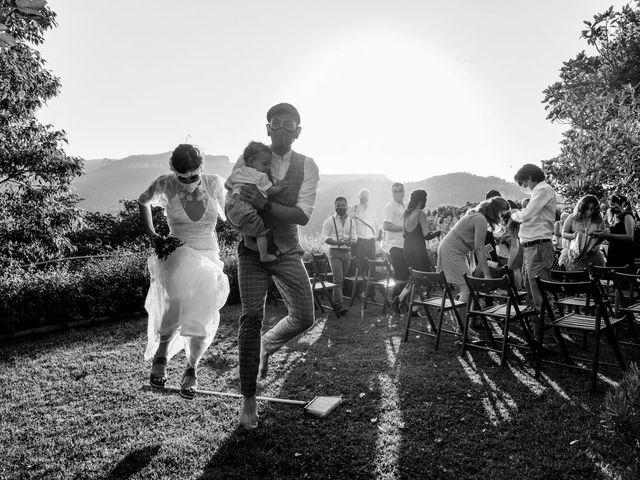 La boda de Cristina y David en Tagamanent, Barcelona 35