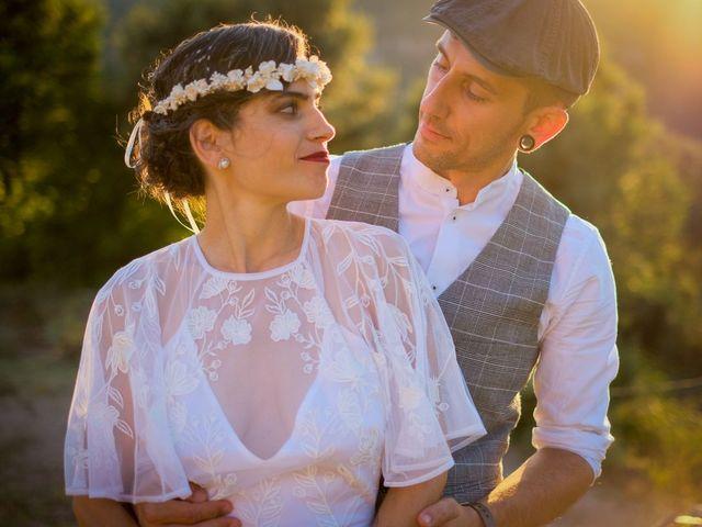 La boda de Cristina y David en Tagamanent, Barcelona 50