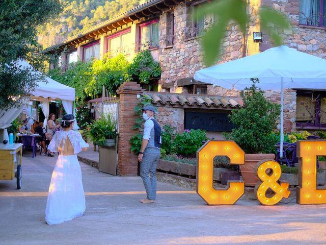 La boda de Cristina y David en Tagamanent, Barcelona 59