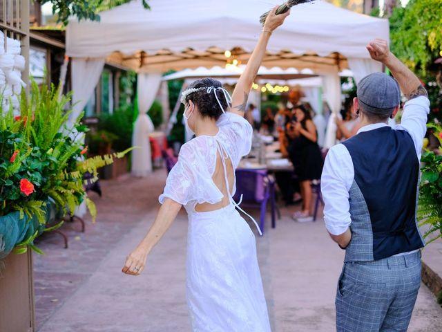 La boda de Cristina y David en Tagamanent, Barcelona 60