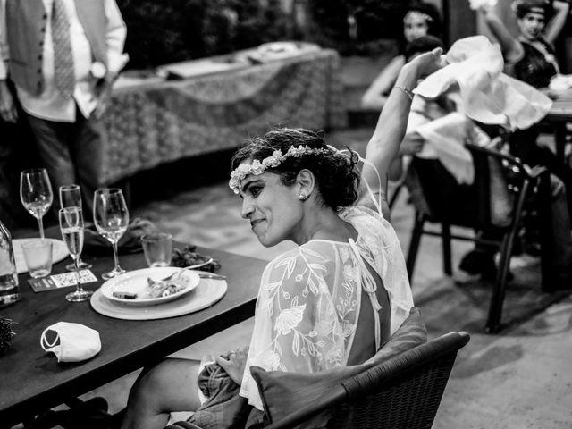La boda de Cristina y David en Tagamanent, Barcelona 73