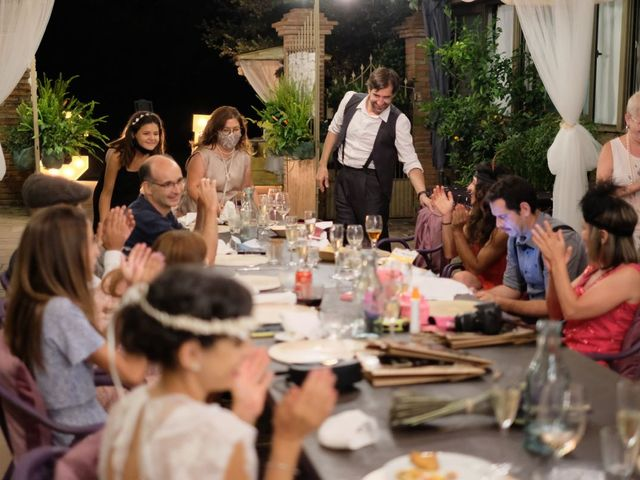 La boda de Cristina y David en Tagamanent, Barcelona 74