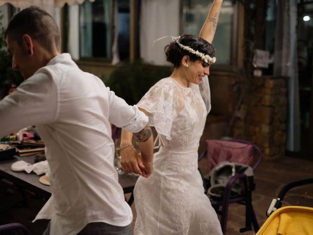La boda de Cristina y David en Tagamanent, Barcelona 75