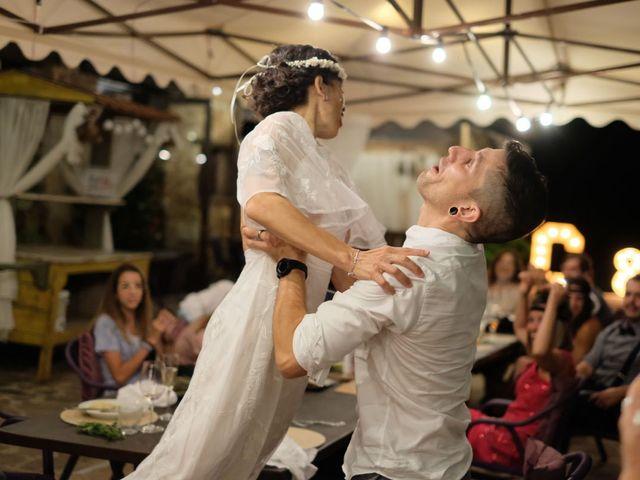 La boda de Cristina y David en Tagamanent, Barcelona 76