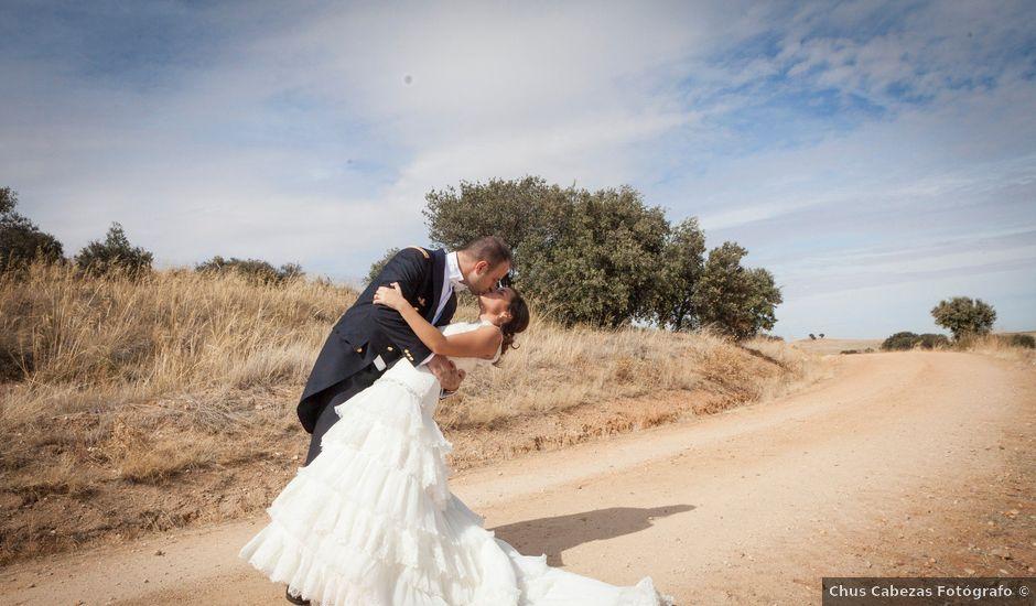 La boda de Jaime y Leire en Mozarbez, Salamanca