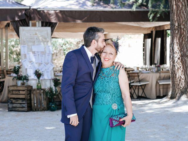 La boda de Raul y Lorena en Rascafria, Madrid 48