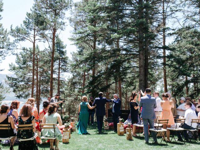 La boda de Raul y Lorena en Rascafria, Madrid 50