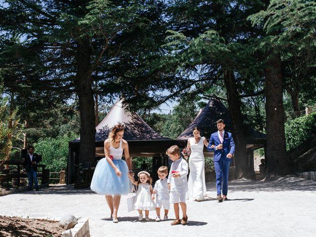 La boda de Raul y Lorena en Rascafria, Madrid 52
