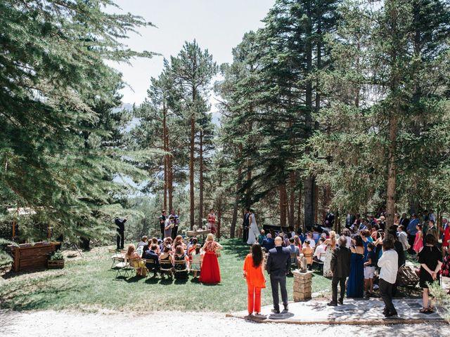 La boda de Raul y Lorena en Rascafria, Madrid 57