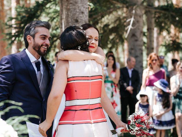 La boda de Raul y Lorena en Rascafria, Madrid 59
