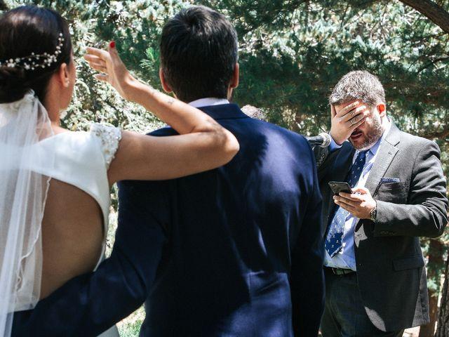 La boda de Raul y Lorena en Rascafria, Madrid 60
