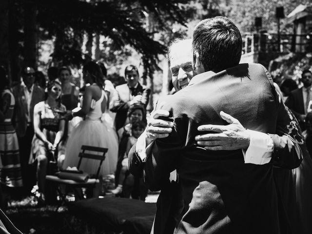 La boda de Raul y Lorena en Rascafria, Madrid 64