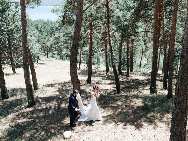 La boda de Raul y Lorena en Rascafria, Madrid 74