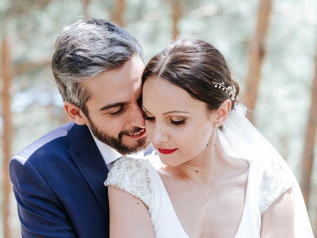 La boda de Raul y Lorena en Rascafria, Madrid 1