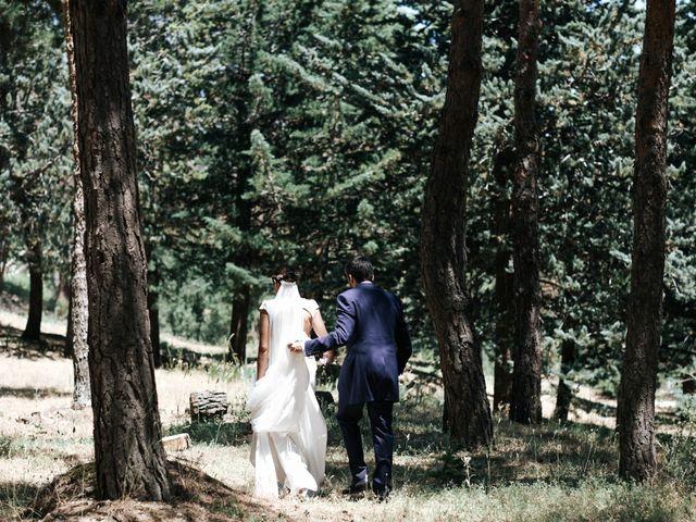 La boda de Raul y Lorena en Rascafria, Madrid 83
