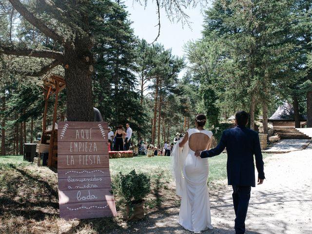 La boda de Raul y Lorena en Rascafria, Madrid 88