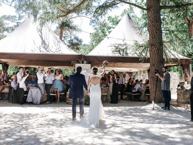 La boda de Raul y Lorena en Rascafria, Madrid 93