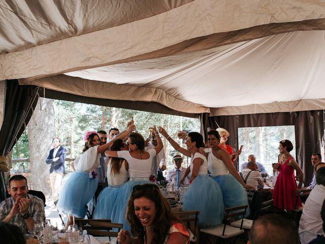 La boda de Raul y Lorena en Rascafria, Madrid 95