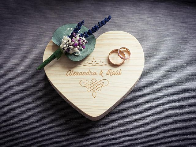 La boda de Raúl  y Alexandra  en Madrid, Madrid 1