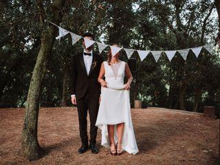La boda de Alba y Ernest