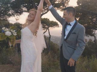 La boda de Paulina y Marc