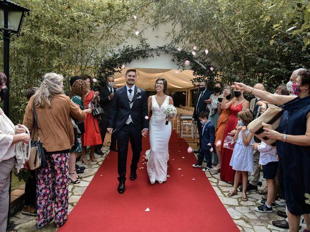 La boda de Albert y Paula en Breda, Girona 15