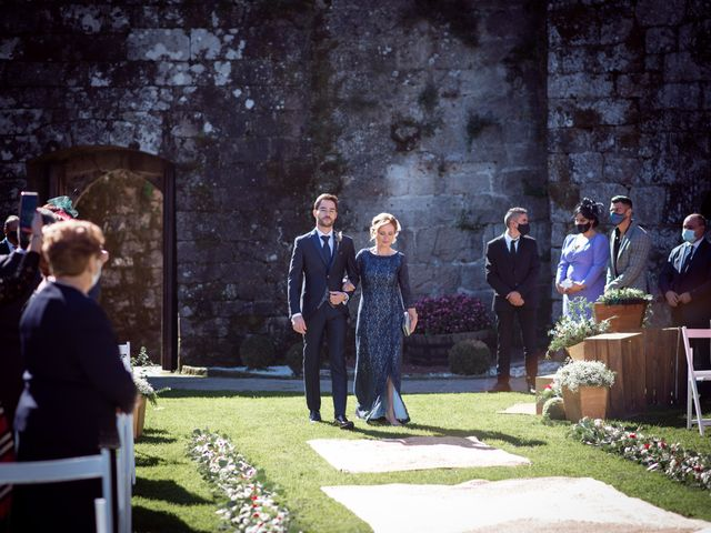 La boda de David y Elena en Soutomaior, Pontevedra 17