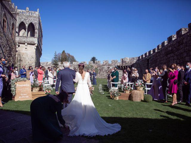 La boda de David y Elena en Soutomaior, Pontevedra 19