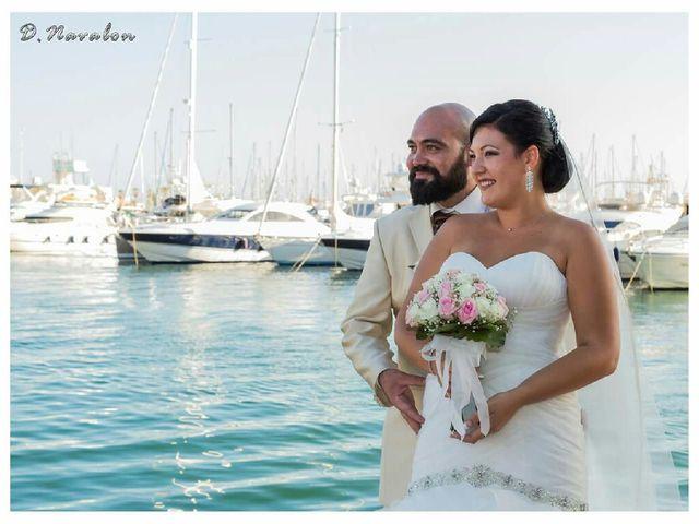 La boda de Pablo y Gemma en Alacant/alicante, Alicante 14