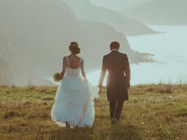 La boda de Iñaki y Irene en Luces, Asturias 101