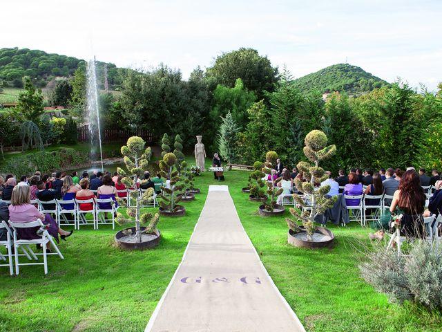 La boda de Gustavo y Gemma en Sant Fost De Campsentelles, Barcelona 52