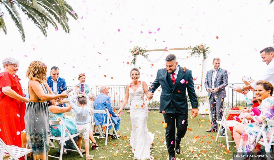 La boda de Héctor y Estela en La Victoria De Acentejo, Santa Cruz de Tenerife