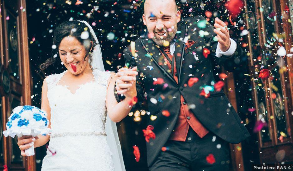 La boda de Mino y Raquel en Redondela, Pontevedra