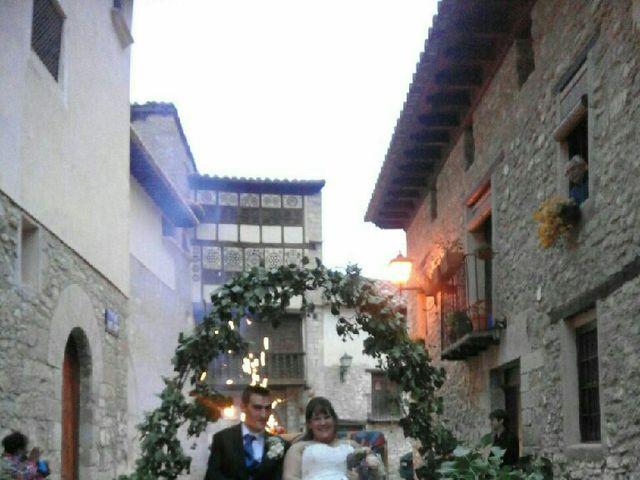 La boda de Sergio y Elena en Mirambel, Teruel 7