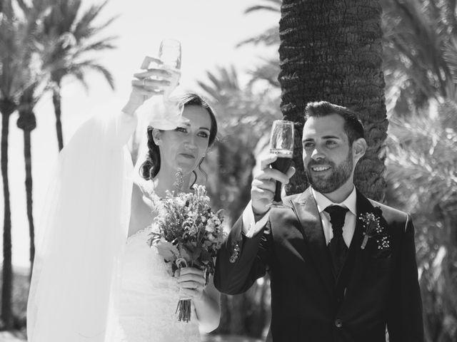 La boda de Miguel y Bárbara en Alacant/alicante, Alicante 131