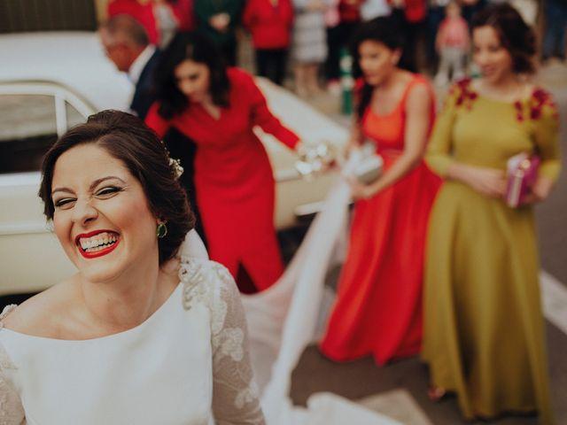 La boda de Jesús y Isabel en Villarrubia De Los Ojos, Ciudad Real 1